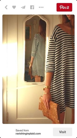 dress stripes striped dress t-shirt dress
