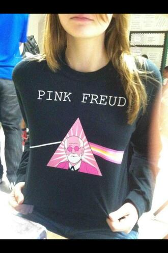 sweater pink floyd clothes