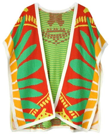 Mara hoffman sunrise poncho sweater