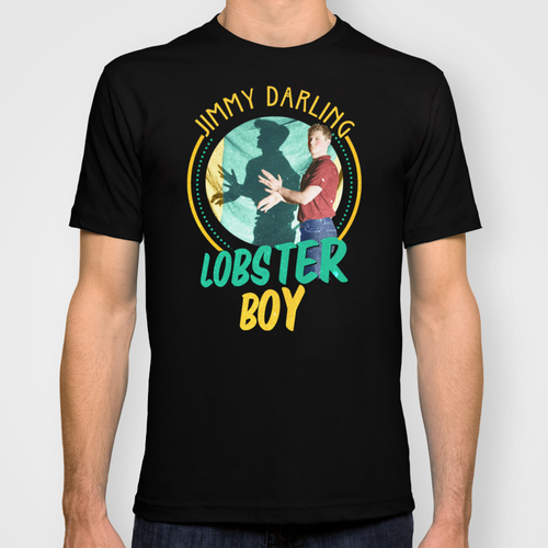 Jimmy Darling: Lobster Boy T-shirt by dan ron eli | Society6