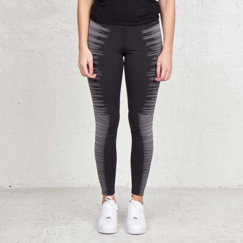 NEW WOMENS NIKE FLASH RUNNING TIGHTS 618292 010 3M