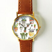 jewels,watch,handmade,style,fashion,vintage,etsy,freeforme,summer,spring,gift ideas,new,love,hot,trendy,cactus,plants,collection,succulent