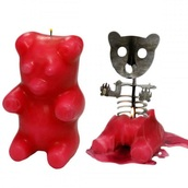 home accessory,candle,bear,skeleton,halloween decor,halloween