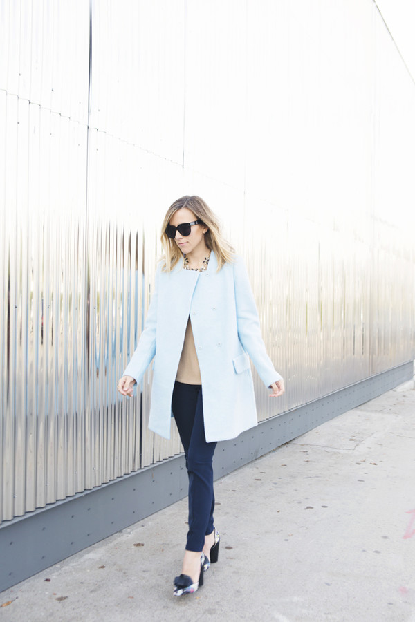 damsel in dior pants coat shoes jewels