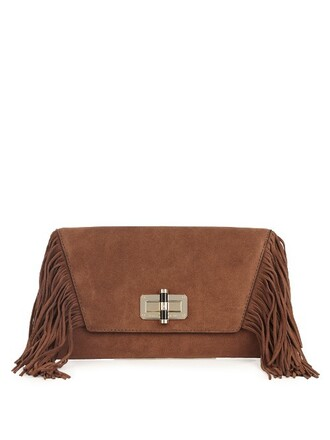 boho clutch tan bag