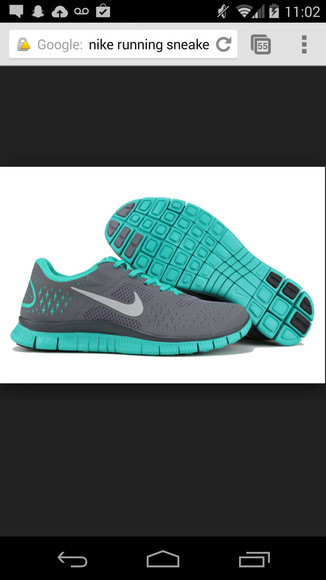 shoes running shoes turquoise nike running shoes gray and turquoise