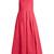 Racer-back linen dress