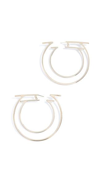 earrings hoop earrings jewels