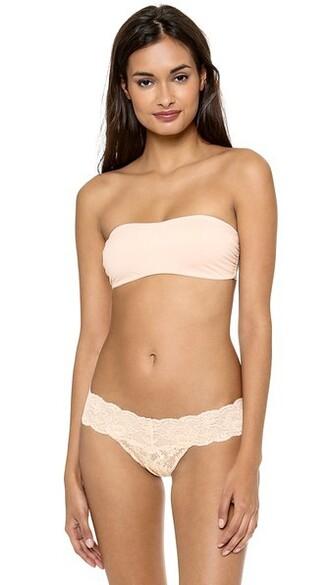 bra bandeau bra blush underwear