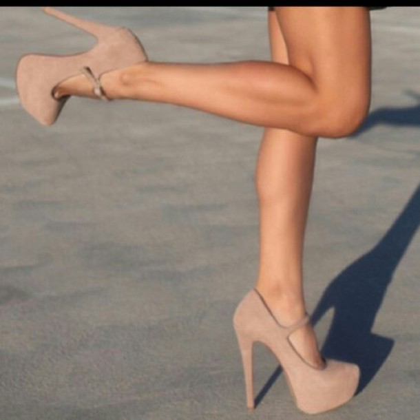 shoes high heels nude high heels cream high heels cute high heels