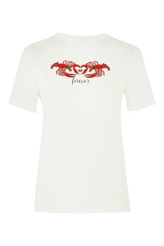 t-shirt shirt forever white top