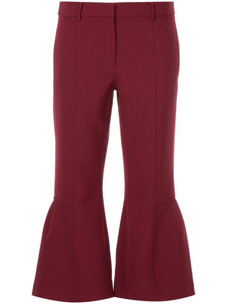 Ck Calvin Klein cropped women spandex red pants
