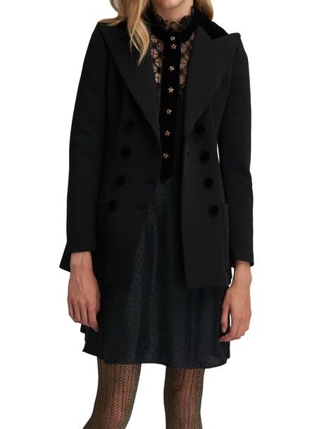 Philosophy di Lorenzo Serafini jacket black jacket black velvet