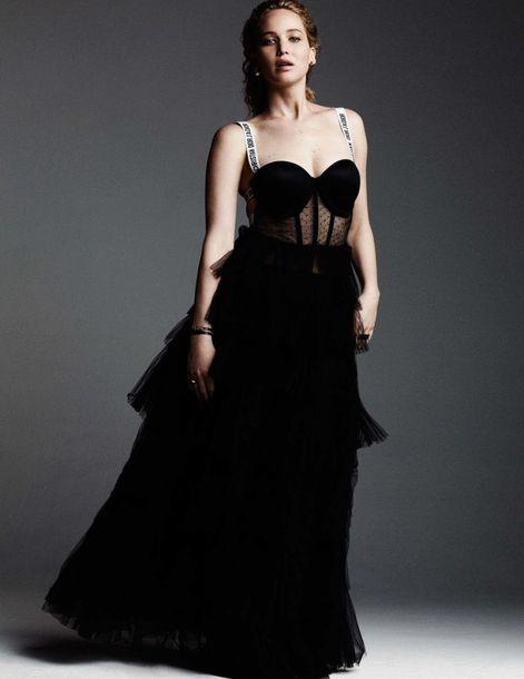 Dress Gown Prom Dress Black Dress Long Dress Long Prom Dress