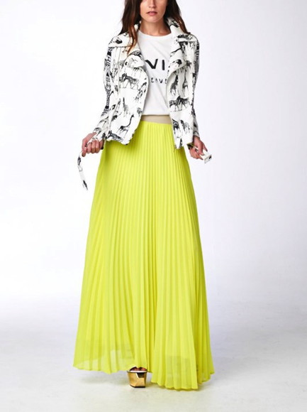 maxi skirt pleated maxi skirt long maxi skirt yellow skirt set casual t-shirts jacket, fashion, hoodie, jeans, high waist jackets lightweight zip up jackets moto jackets cotton jackets