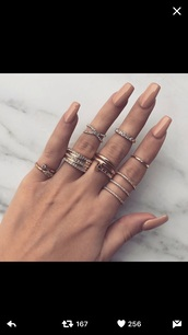 jewels,rings and tings,rings cute summer,jewelry rings,rings & tings,rings and jewelry,gold midi rings,finger rings,thin rings,ring,gold ring,gold,gold chain,gold jewelry