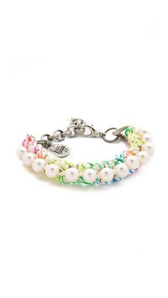 rainbow pearl pretty jewels
