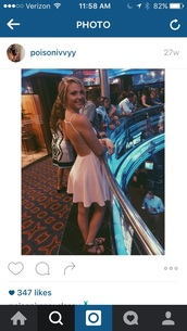 dress,baby pink,blonde hair