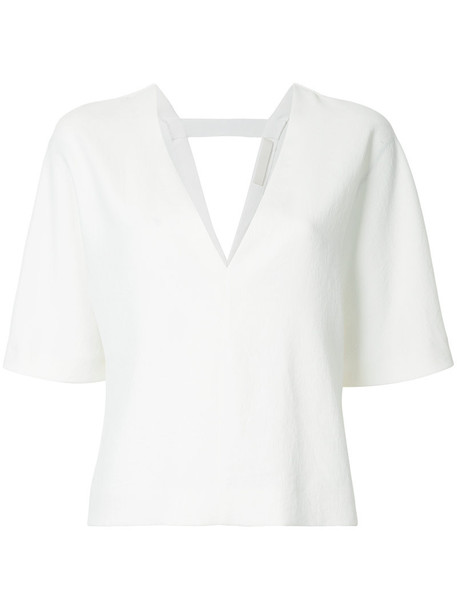 women white top
