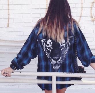 winter swag jacket tiger print youtuber beyondbeautystar claudia sulweski