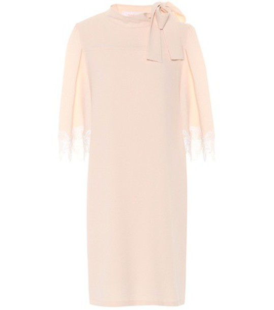 See by Chloe dress pink