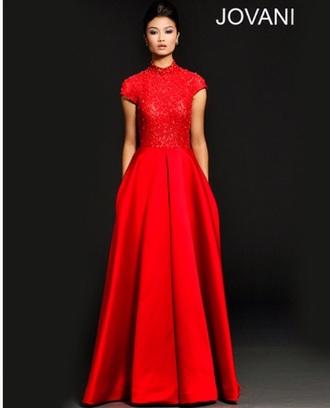satin satin dress jovani prom dress lace dress