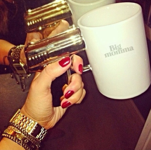 jewels gun gold gun cup coffee cup cup ceramic