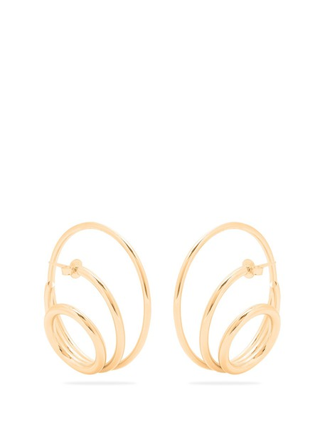 Charlotte Chesnais earrings gold jewels