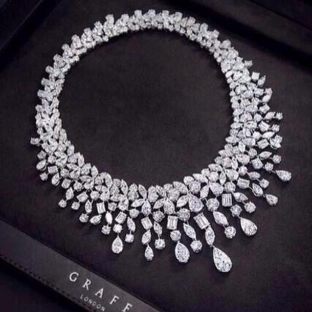 jewels diamond necklace