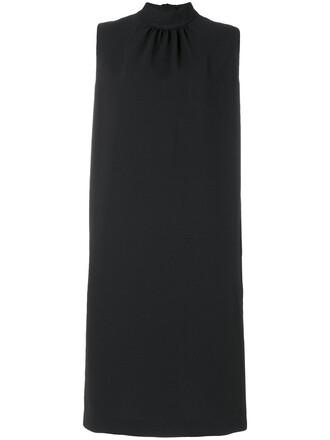 dress midi dress bow women midi black