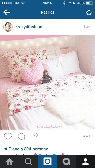 home accessory bedding girly floral