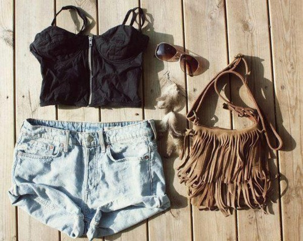 bag bag tank top tank top tumblr tumblr outfit shorts High waisted shorts