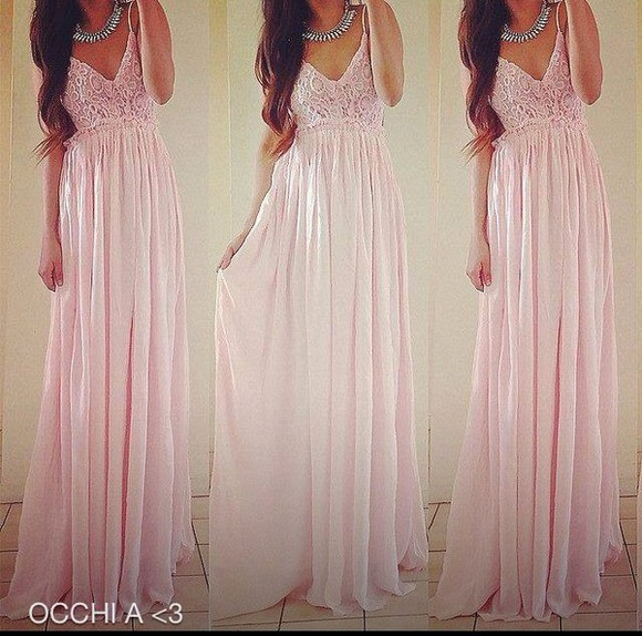 dress wedding dress long dress rosa pink party princess wedding dresses