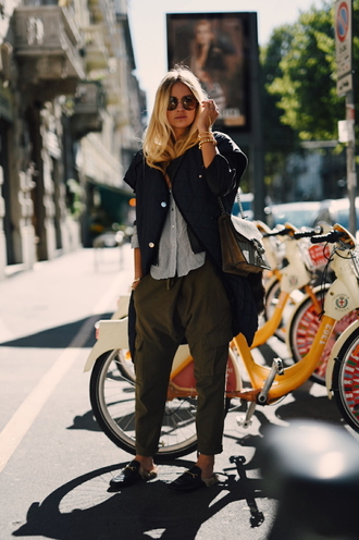 en vogue coop blogger shoes bag jewels jacket top pants