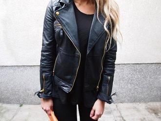 jacket leather jacket black black jacket leather cuir noir