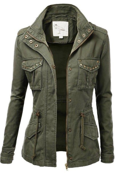 jacket camo jacket army green supernatural cardigan shirt green