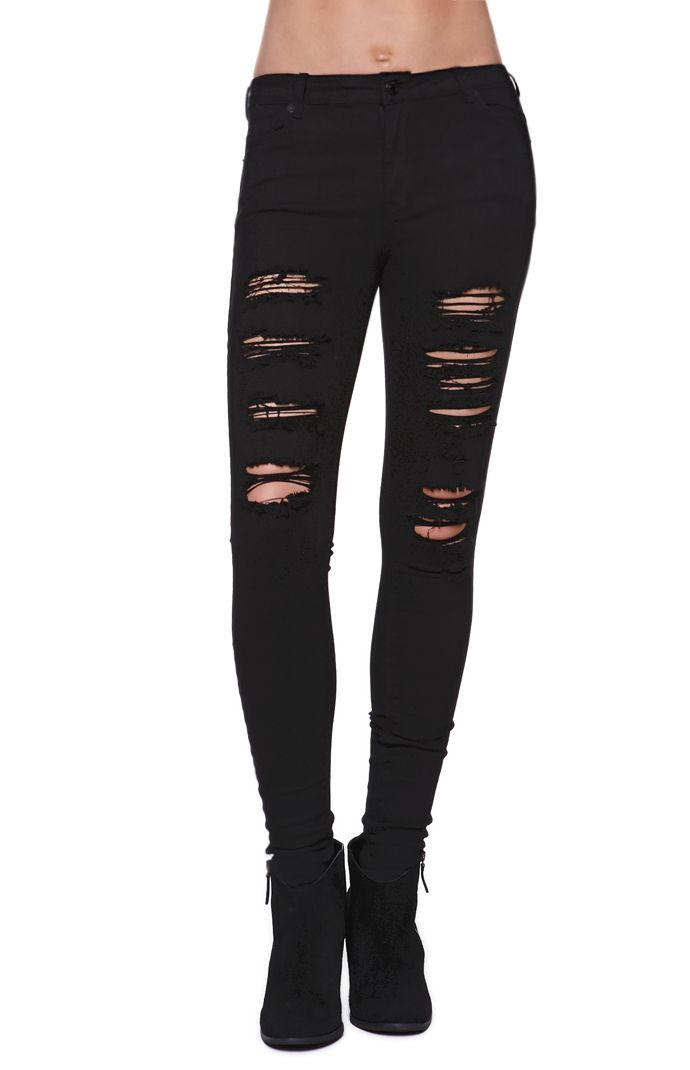 Kendall and Kylie High Rise Skinniest Jeans at PacSun.com