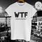Wtf where's the food t-shirt - get it at illegal art boutique