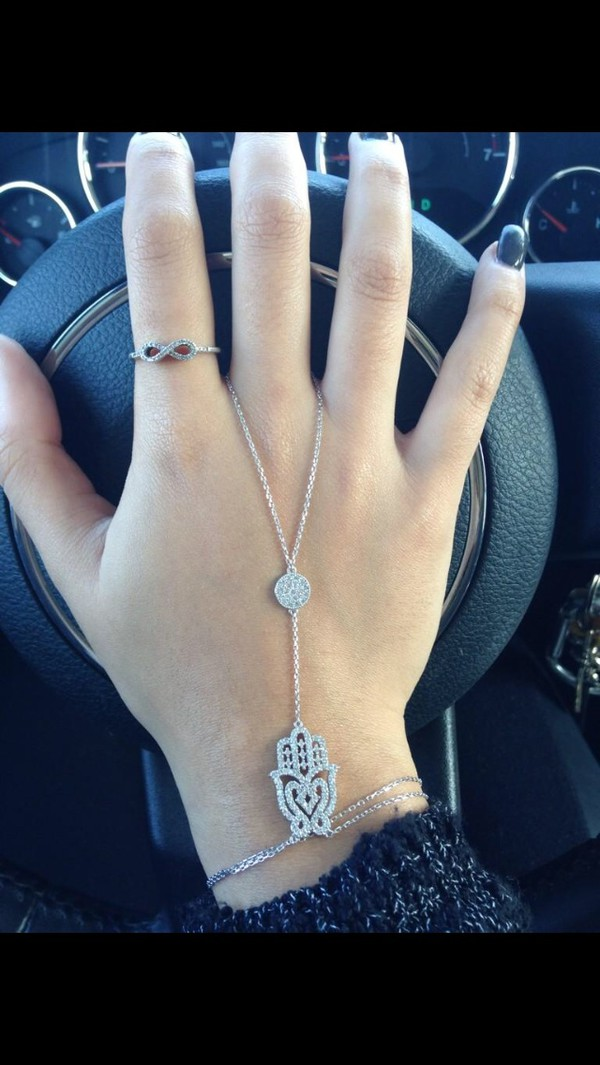 jewels hamsa silver hasma hasma hand moon necklace turkish