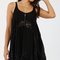Swing lace detail slip dress