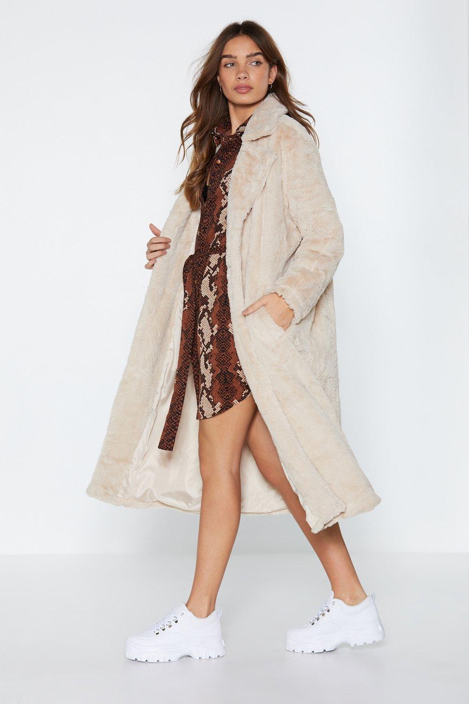 Warm Love Faux Fur Coat | Shop Clothes at Nasty Gal!