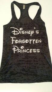 disney,princess,tank top,t-shirt,top,shirt