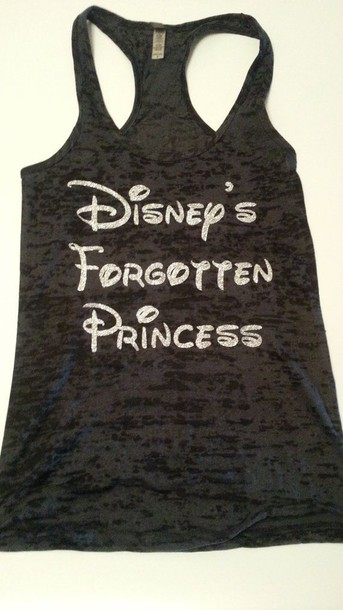 disney princess tank top t-shirt top shirt