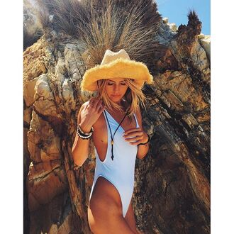 swimwear nastygal beach lounge holidays style dj sam black fashion stylebodysuit waves high cut low back deep v