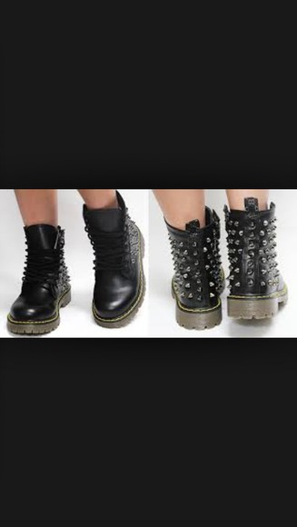 hipster boots studded shoes dr martens