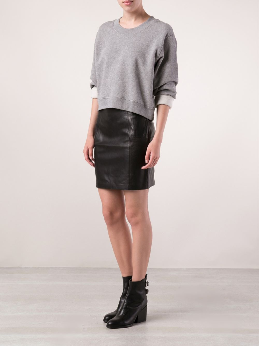 Blk Dnm Fitted Skirt - The Webster - Farfetch.com