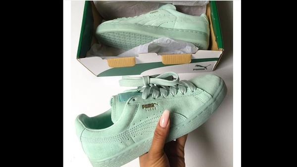 Puma Suede Classic ECO | Aurora & Mint Leaf Green OG