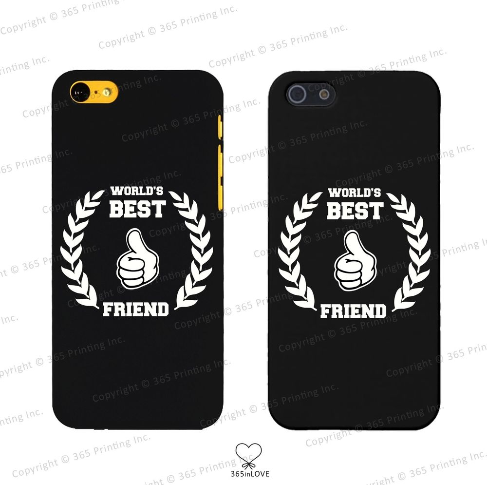 World's Best Friend Matching BFF Phone Covers iPhone 4 5 5c Galaxy S3 S4 S5 | eBay
