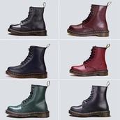 shoes,black,cherry,combatboots