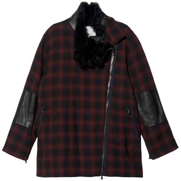 3.1 Phillip Lim Shadow Plaid Jacket - Polyvore